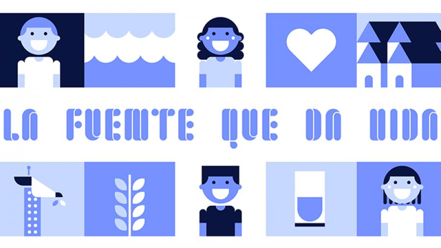 La fuente que da vida, una tipografía solidaria para celebrar el Día Mundial del Agua